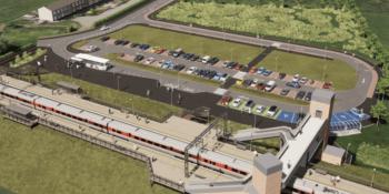 New Reston station