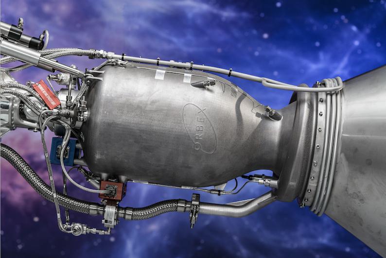 Orbex 3D printed rocket engine