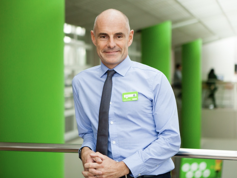 Roger Burnley of Asda