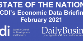 Scottish data briefing for February 2021