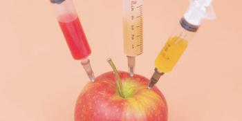 Apple-with-syringes-by-Diana-Polekhina