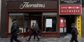Thorntons Glasgow - closed