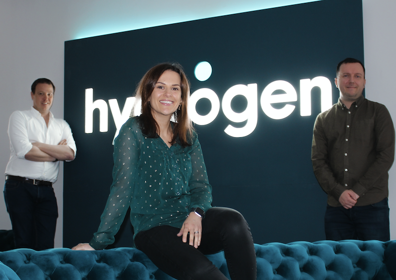 Mike-Scott-Nicky-Logue-and-Daniel-Rae of Hydrogen