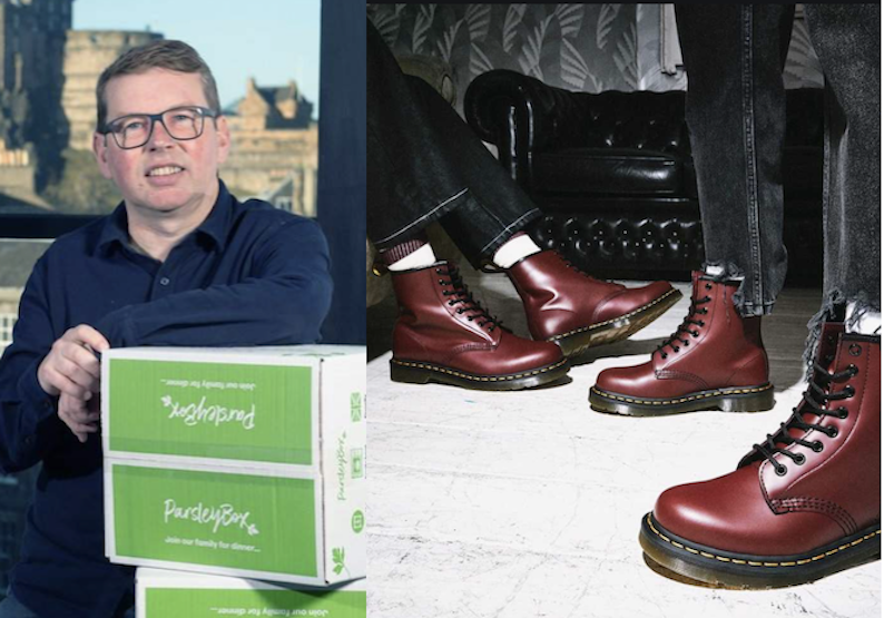 Parsley Box and Dr Martens