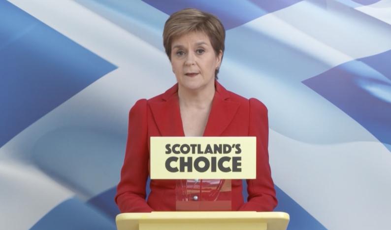 Sturgeon-declaring-victory