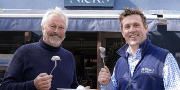 Nick Nairn and Steve Mitchell