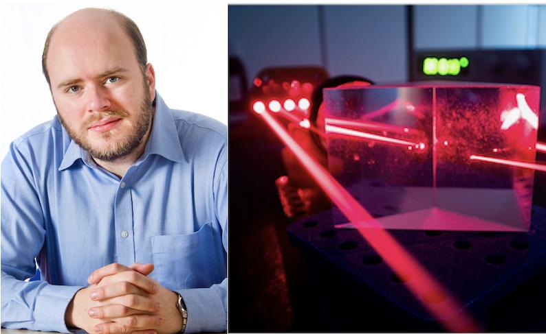 Richard Carter and laser