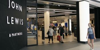 John Lewis store in St James