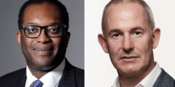 Kwasi Kwarteng and Mark Logan