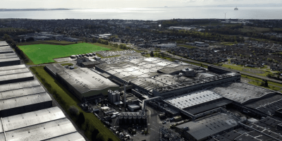 Leven-plant-with-solar-farm-site-in-green