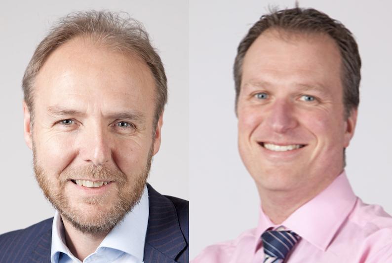 Mark Steven and Simon Oldham