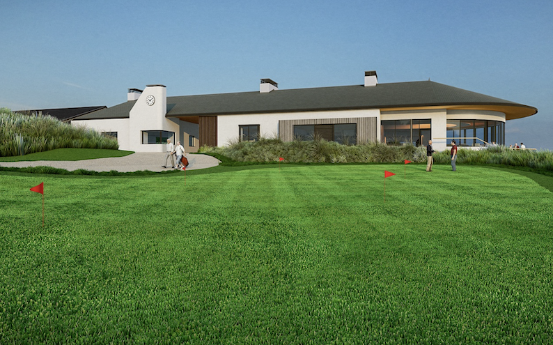 New Dunbar Golf Clubhouse