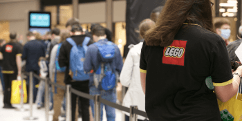 Lego store in St James