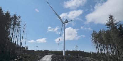 Beinn an Tuirc 3 wind farm on Kintyre