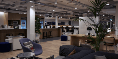 WeWork office Edinburgh